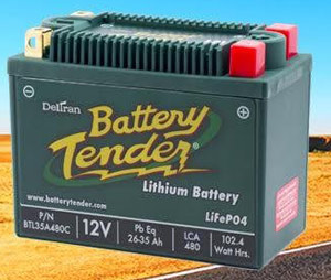 Battery Tender Lithium Iron Phosphate Battery