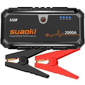 Suaoki U28 2000A Peak Jump Starter