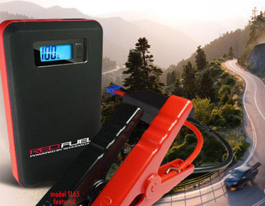 Schumacher SL161 Red Fuel Lithium Ion Multi-function Jump Starter
