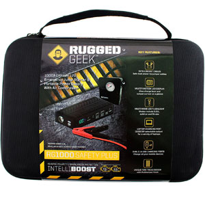 Rugged Geek RG1000 1000A Jump Starter